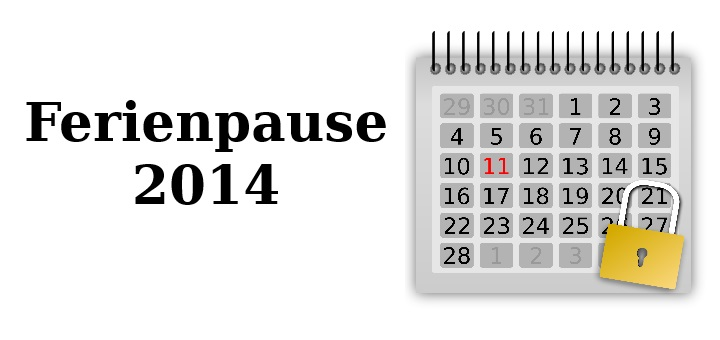 Sommerpause 2014
